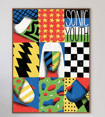 Sonic Youth Limited Art Print