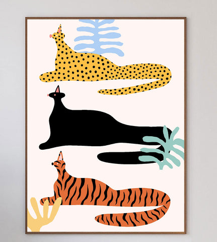 Cats Limited Art Print