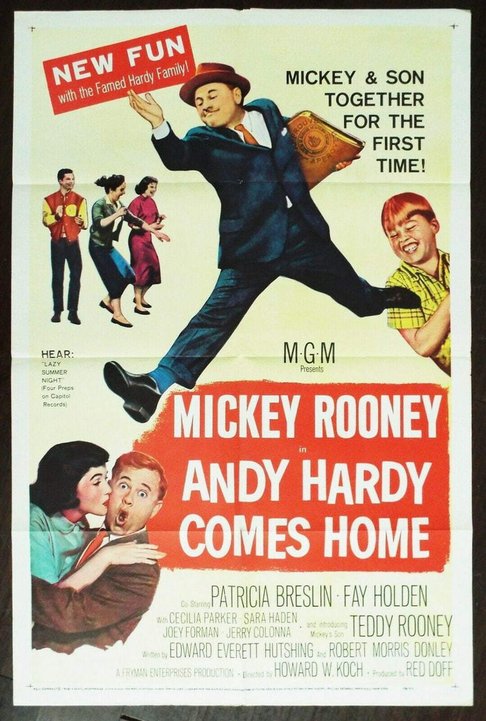 Andy Hardy Comes Home - Printed Originals