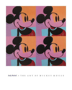 Andy Warhol Mickey Mouse - Printed Originals