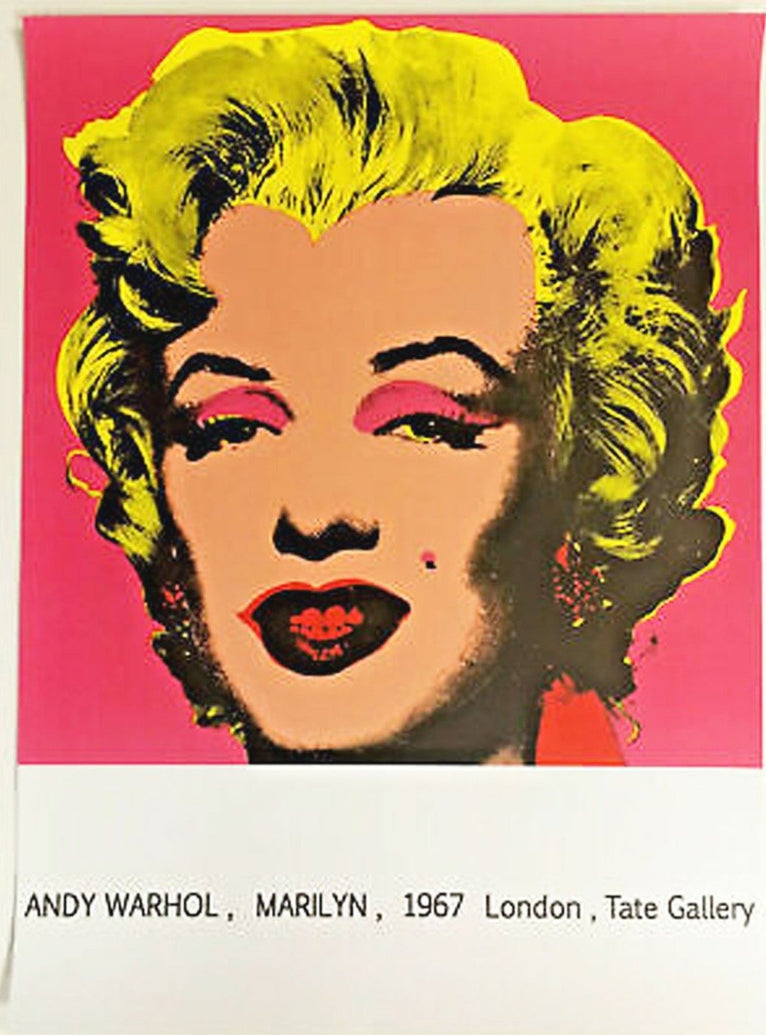 Andy Warhol - Tate Gallery - Printed Originals