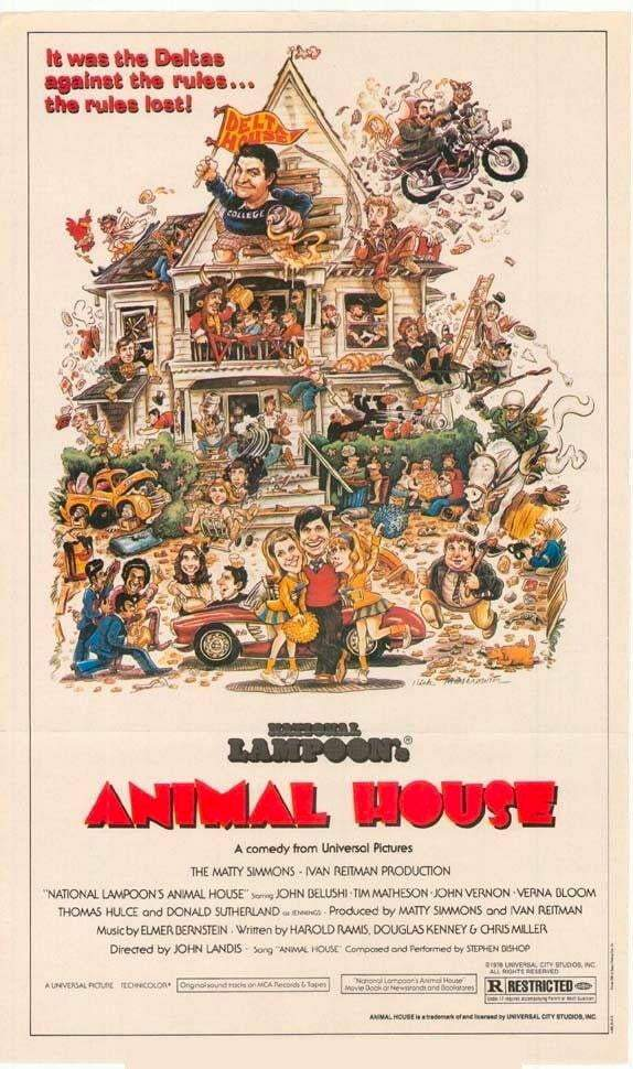 Animal House - Printed Originals