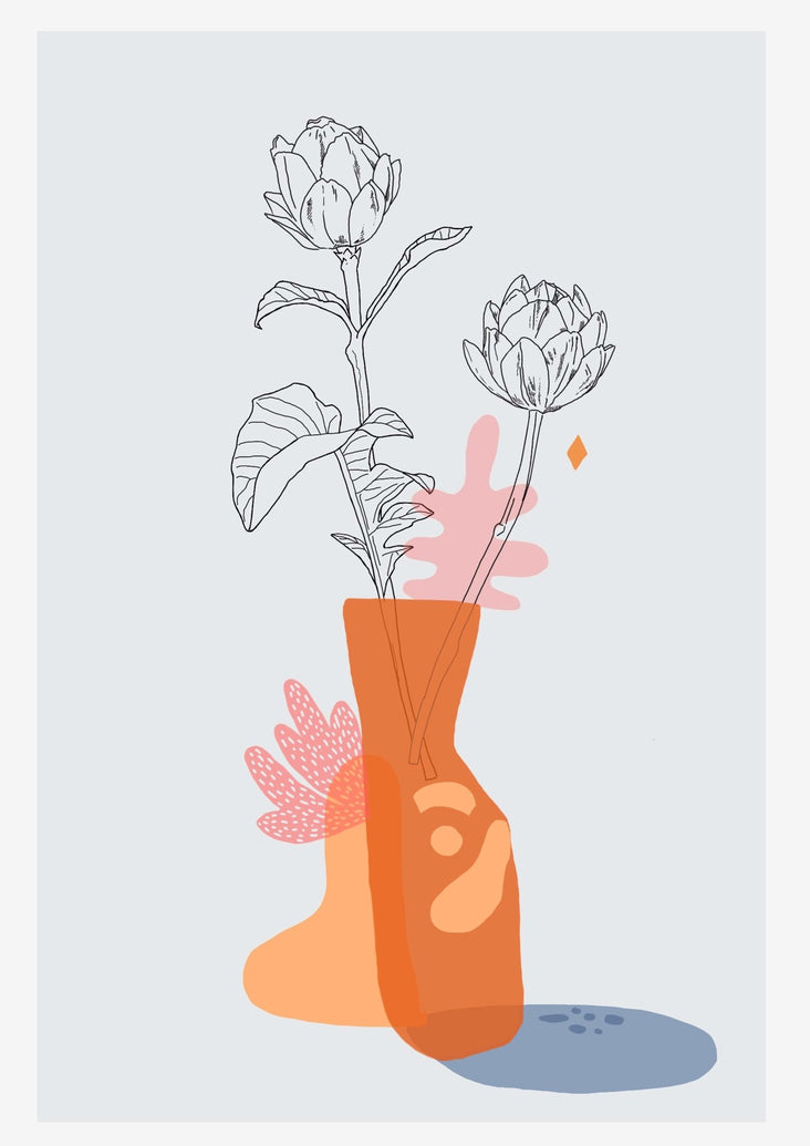 Artichokes Limited Art Print - Printed Originals