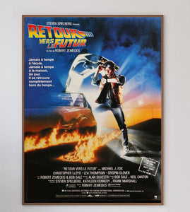 Back To The Future (French) - Printed Originals