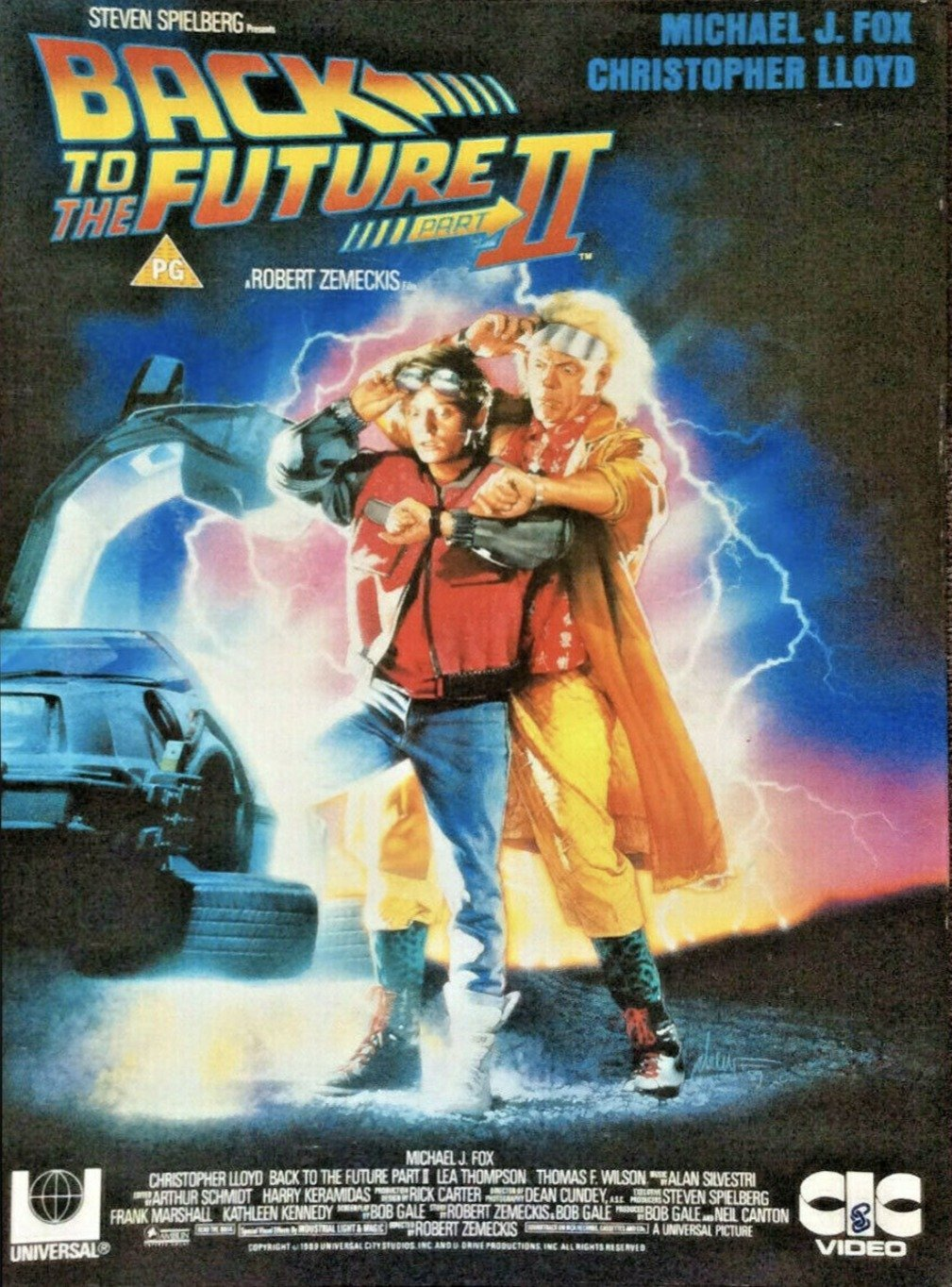 Back to the Future II - Printed Originals