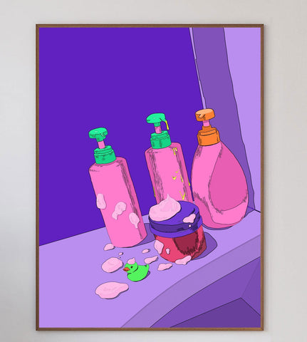 Bathroom II Limited Art Print