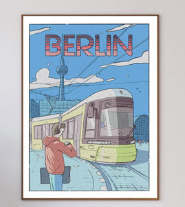 Berlin Limited Art Print - Printed Originals