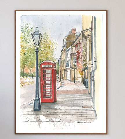 Oxford Booth Limited Art Print