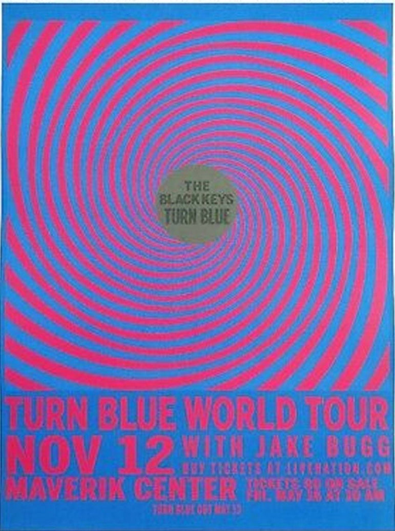 Black Keys - Turn Blue Tour - Printed Originals