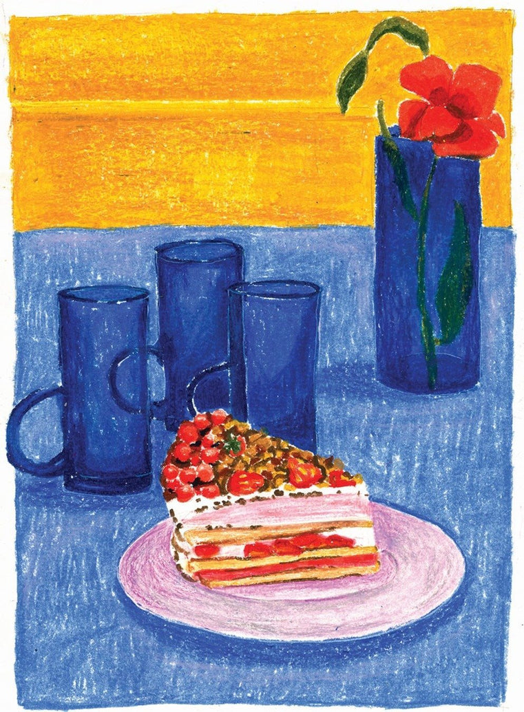 Bliss On A Plate Limited Art Print - Printed Originals
