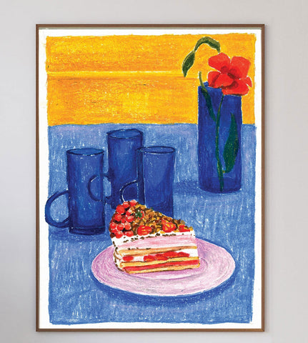 Bliss On A Plate Limited Art Print