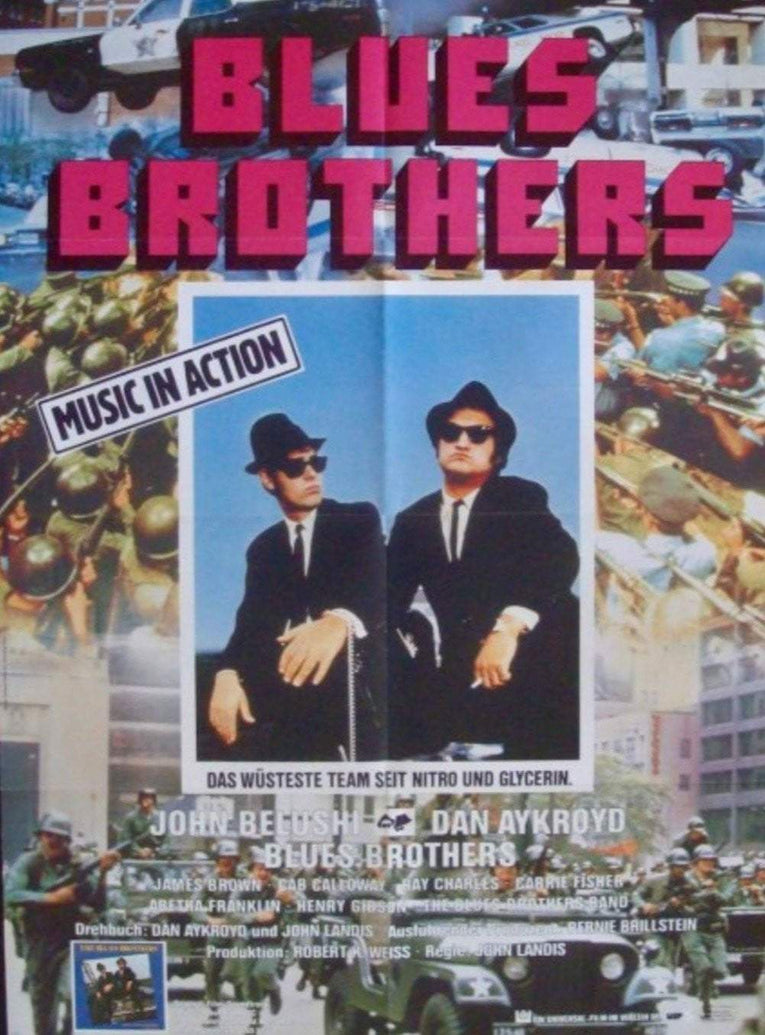 Blues Brothers (German) - Printed Originals