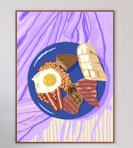 Breakfast In Bed Limited Art Print