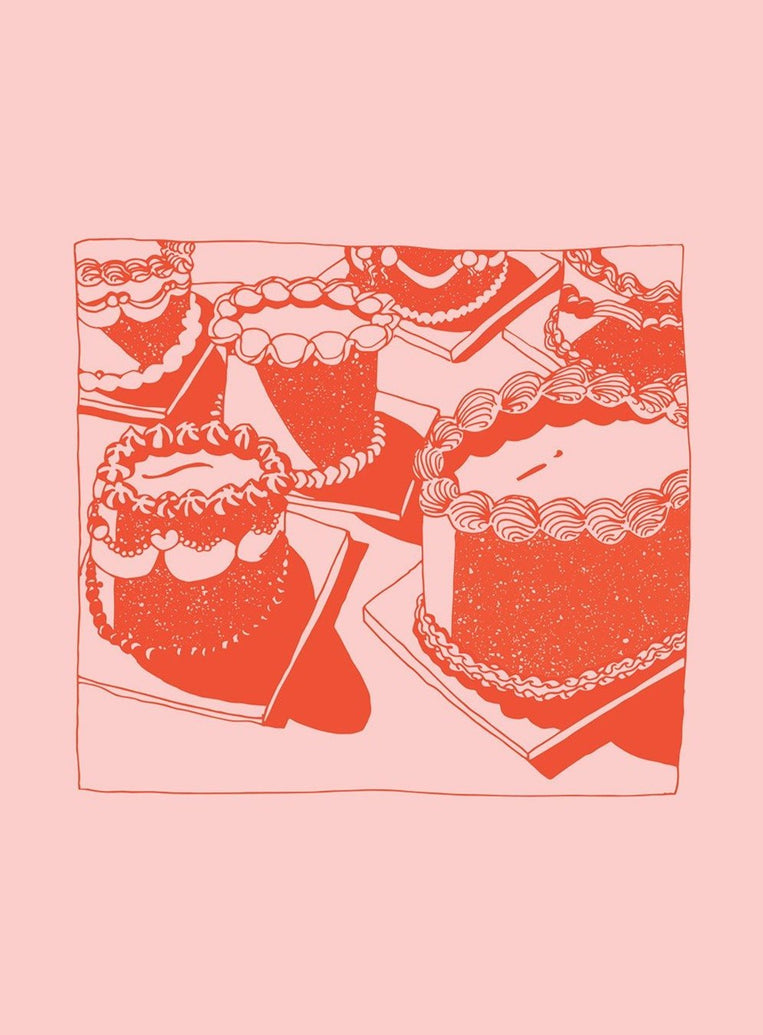 Cakes Art Print - Printed Originals