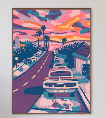 California Streets Limited Art Print