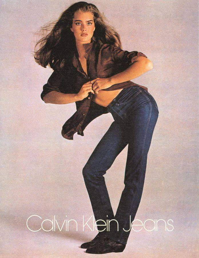 Calvin Klein Brooke Shields - Printed Originals