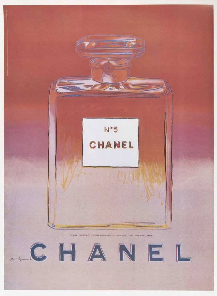 Andy Warhol - Chanel Pink