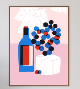 Cheese & Wine Limited Art Print - Printed Originals