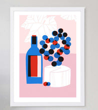 Load image into Gallery viewer, Cheese & Wine Limited Art Print
