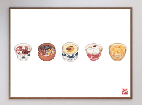 Chinese Sweet Soup Art Print