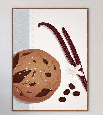 Chocolate Chip Cookie Limited Art Print