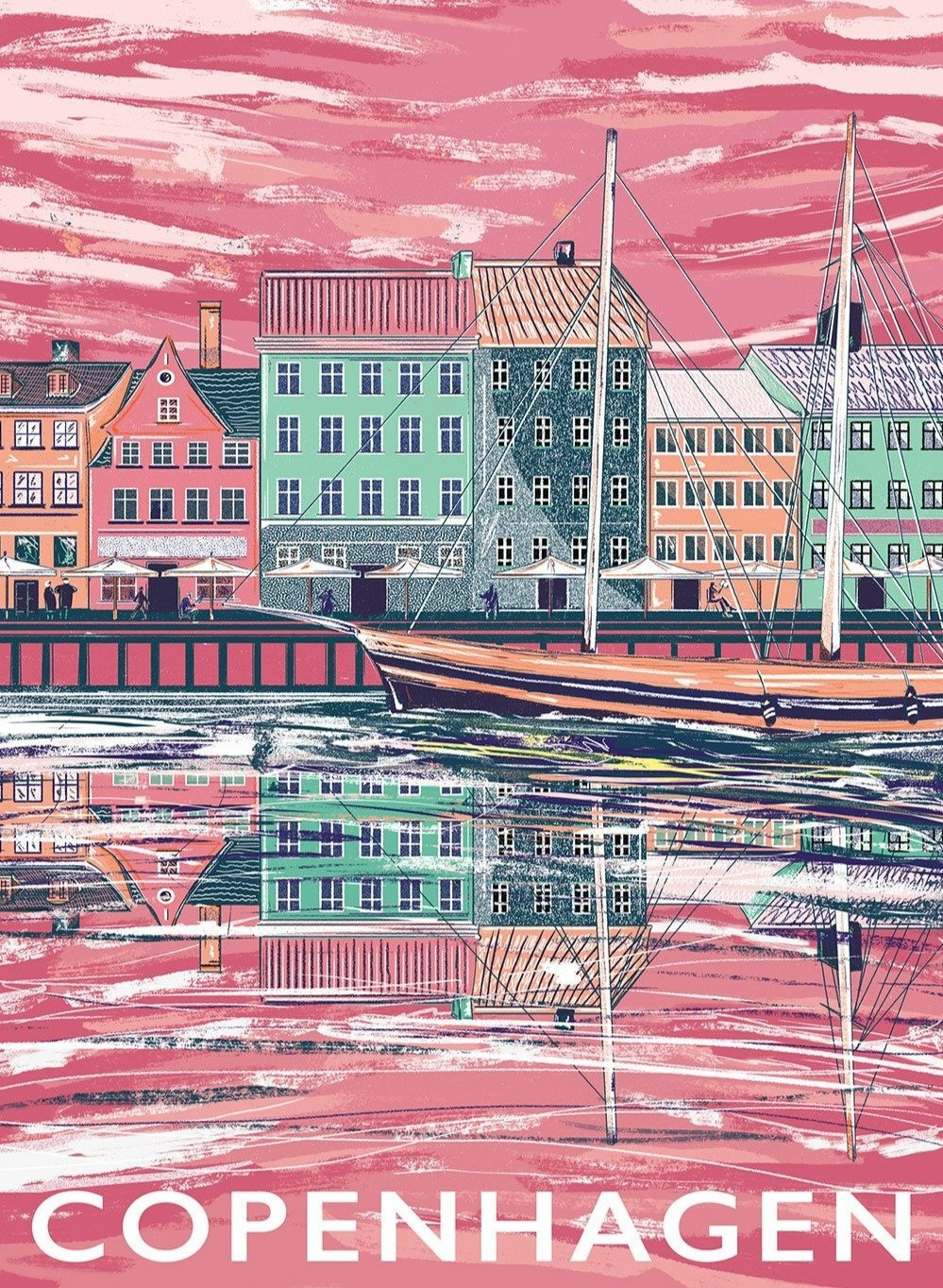 Copenhagen Limited Art Print - Printed Originals