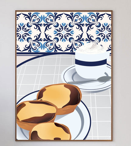 Custard Egg Tarts Limited Art Print