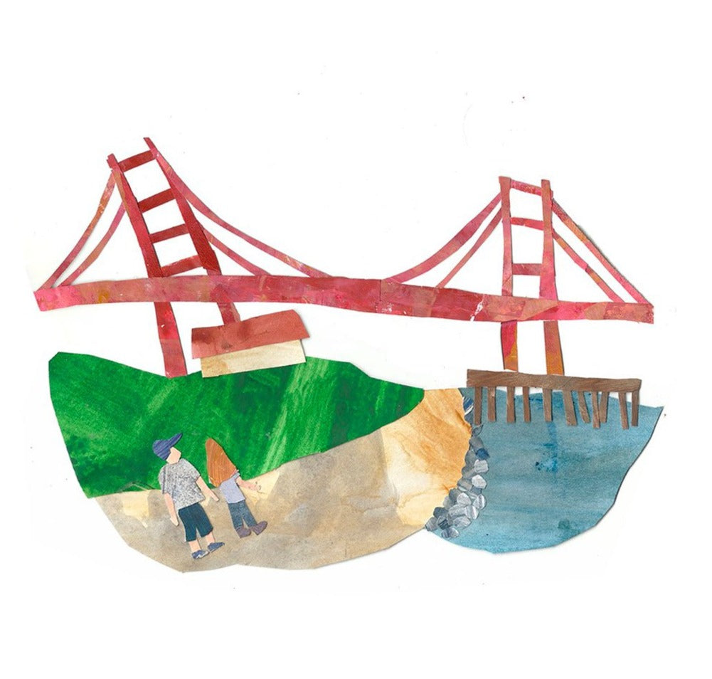 Golden Gate Limited Art Print