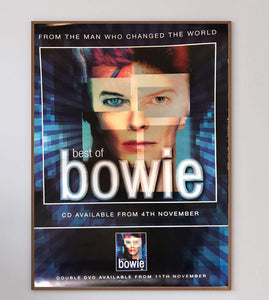 David Bowie - Best of Bowie - Printed Originals