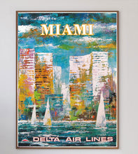 Load image into Gallery viewer, Miami - Delta Air Lines
