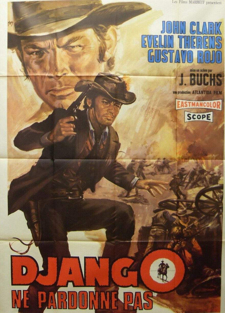 Django Does Not Forgive (French) - Printed Originals