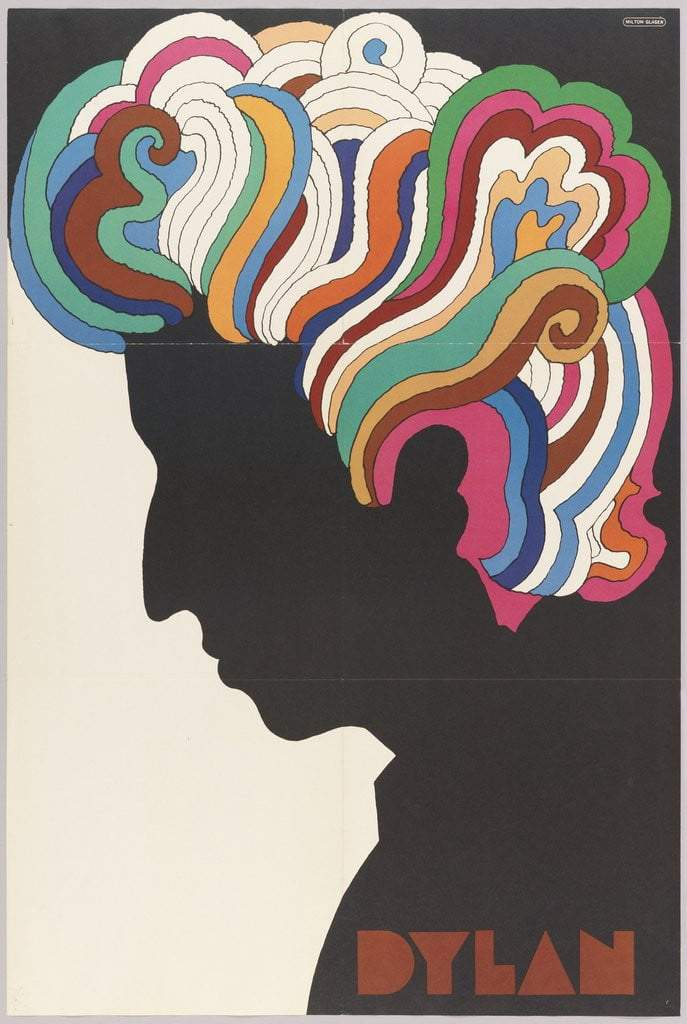 Bob Dylan Milton Glaser - Printed Originals