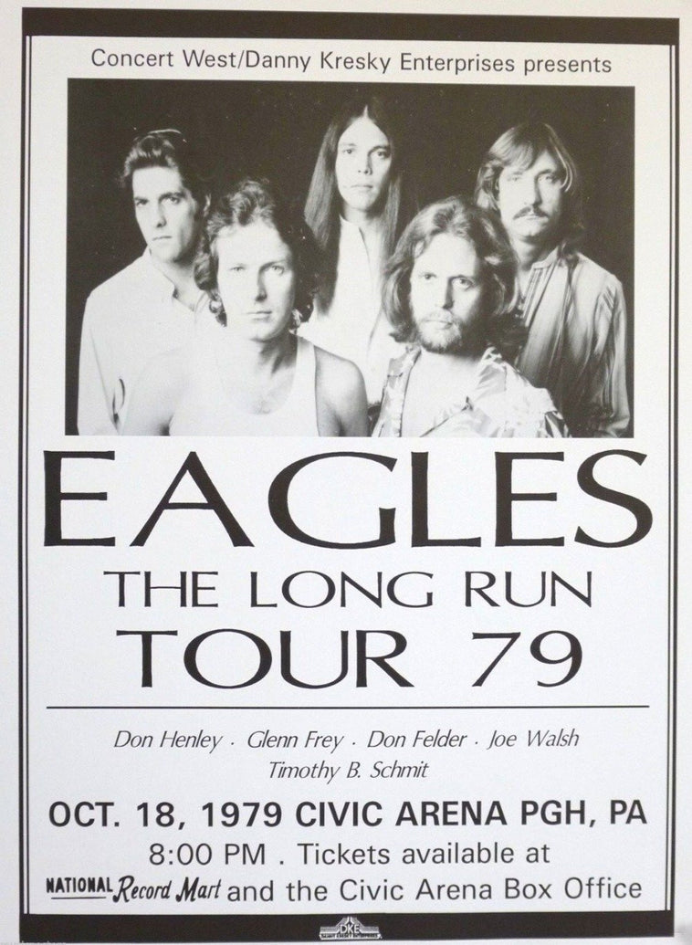 Eagles - The Long Run - Printed Originals