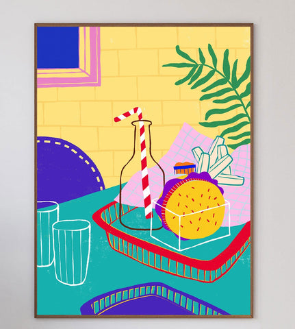 Fast Food Limited Art Print