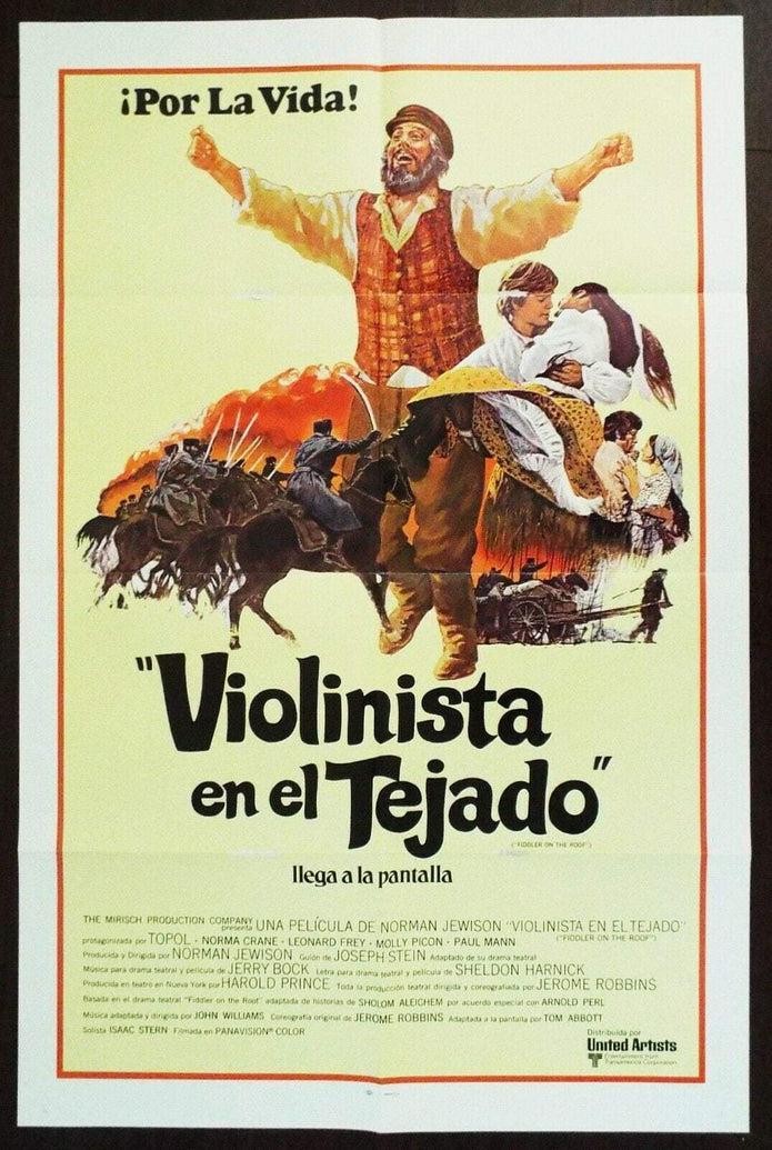 Fiddler on the Roof (Spanish) - Printed Originals