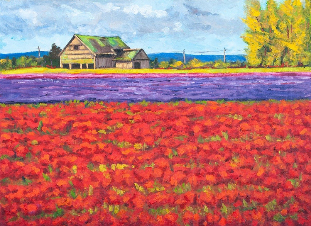 Field of Colors Limited Art Print - Printed Originals