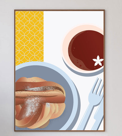 Fika Limited Art Print