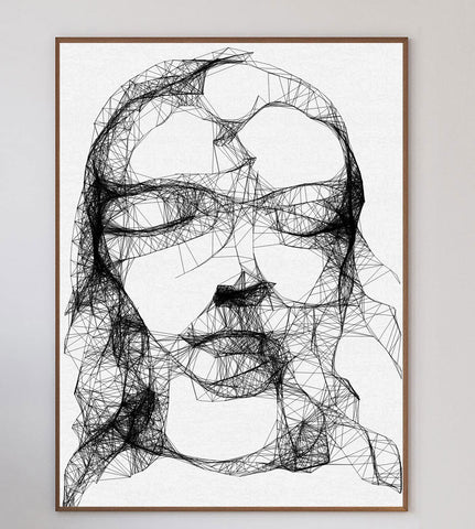 Fractal Girl Limited Art Print