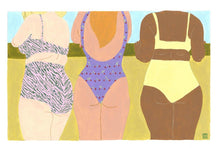 Load image into Gallery viewer, Girls At The Golden Hour Limited Art Print - Printed Originals
