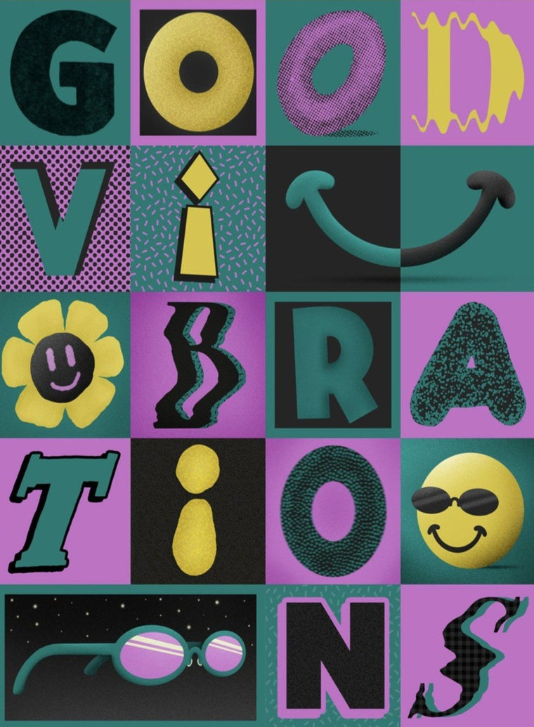 Good Vibrations Limited Art Print - Printed Originals