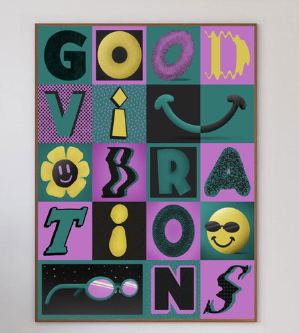 Good Vibrations Limited Art Print