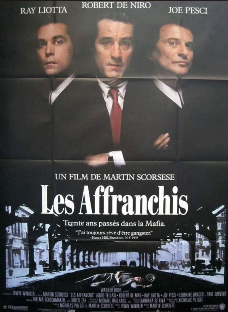 Goodfellas (French) - Printed Originals
