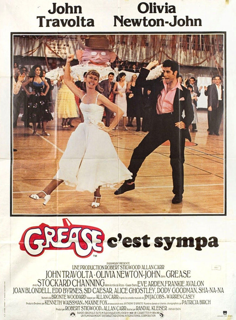 Grease (French) - Printed Originals