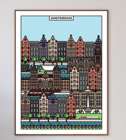 Amsterdam Limited Art Print
