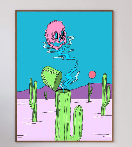 Heart Of A Cactus Limited Art Print