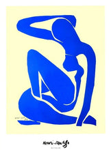Load image into Gallery viewer, Henri Matisse - Blue Nude I - Printed Originals