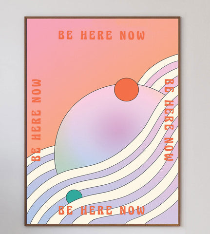 Here Now Limited Art Print