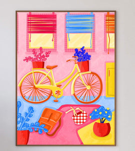 I Want To Ride My Bicycle Limited Art Print - Printed Originals