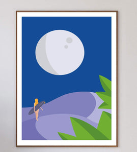 In The Desert By Night Limited Art Print - Printed Originals