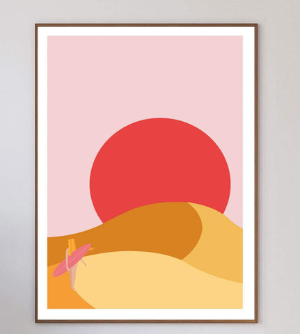 In The Desert Limited Art Print
